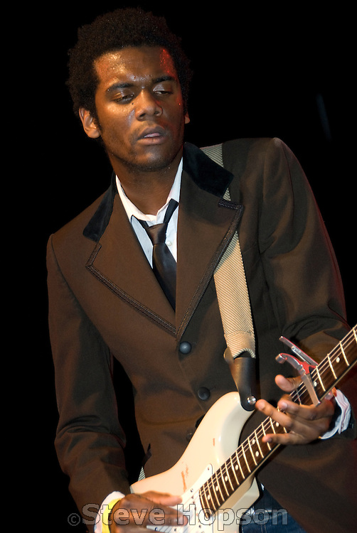 Gary Clark Jr. at the annual South by Southwest Music Conference in Austin Texas March 12 2008.