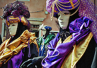 procession, masked carnival, Venice, Italy
