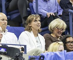 September 5, 2018 - New York, New York, United States - Katie Ledecky attends US Open 2018 quarterfinal match between Carla Suarez Navarro & Madison Keys of USA at USTA Billie Jean King National Tennis Center  (Credit Image: © Lev Radin/Pacific Press via ZUMA Wire)