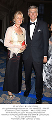 SIR NICHOLAS & LADY YOUNG at a gala evening in London on 16th June 2003.PKM 39