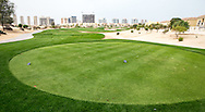 3rd tee at The Els Club , Dubai, United Arab Emirates.  28/01/2016. Picture: Golffile | David Lloyd<br /> <br /> All photos usage must carry mandatory copyright credit (© Golffile | David Lloyd)