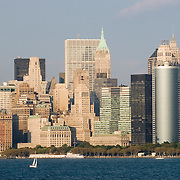 Downtown Manhattan Skyline, October 2007