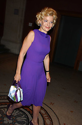 WENDY, COUNTESS OF CALEDON at a dinner hosted by Dom Perignon champagne to celebrate the launch of a new cook book held at the National Portrait Gallery, London on 15th September 2005.<br />