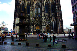 The Cologne Cathedral was halted in 1473 and not completed until 1880.