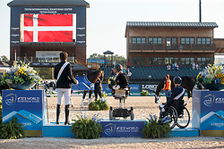 Puch Pepo, AUT, Tange Kaastrup Stinna, DEN, Den Dulk Nicole, NED<br /> World Equestrian Games - Tryon 2018<br /> © Hippo Foto - Sharon Vandeput<br /> 22/09/2018
