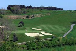 NORMANDY, FRANCE - MAY-01-2007 - Omaha Beach Golf Club - Course: La Mer (The Sea) - Hole 8 - 182 yards - Par 3. (Photo © Jock Fistick)