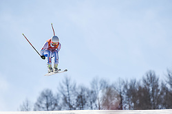 February 15, 2018 - Jeongseon, Gangwon, South Korea - Jared Goldberg of  United States competing in mens downhill at Jeongseon Alpine Centre at Jeongseon , South Korea on February 15, 2018. (Credit Image: © Ulrik Pedersen/NurPhoto via ZUMA Press)