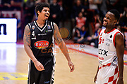 Edgar Sosa, Ronald Moore<br /> The FlexX Pistoia Basket - Pasta Reggia Juve Caserta<br /> Lega Basket Serie A 2016/2017<br /> Pistoia, 13/02/2017<br /> Foto Ciamillo-Castoria