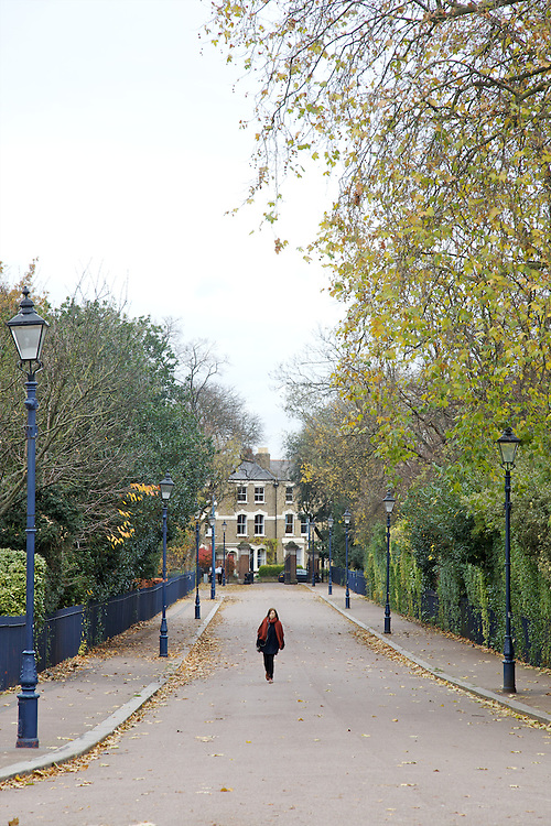 Victoria Park, Hackney, London CREDIT: Vanessa Berberian for The Wall Street Journal<br /> HACKNEY-Lana Wrightman