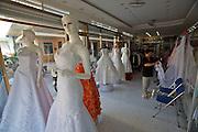 Rach Gia. Wedding dress shop.