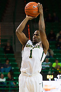 WACO, TX - DECEMBER 17: Kenny Chery #1 of the Baylor Bears shoots the ball against the New Mexico State Aggies on December 17, 2014 at the Ferrell Center in Waco, Texas.  (Photo by Cooper Neill/Getty Images) *** Local Caption *** Kenny Chery