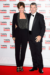 © Licensed to London News Pictures. 18/10/2016. EMMA FORBES and husband GRAHA CLEMPSON attend the Variety Showbiz Awards at the Hilton Park Lane Hotel. London, UK. Photo credit: Ray Tang/LNP
