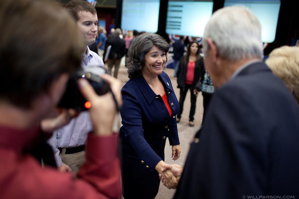 State Assembly candidate Christine Rubin.
