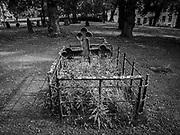 En grav på Kungsholms kyrkas kyrkogård