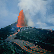 Kilauea Volcano, Hawaii Volcanoes National Park, Island of Hawaii, Hawaii, USA