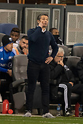 March 2, 2019; San Jose, CA, USA; Montreal Impact head coach Remi Garde instructs during the second half against the San Jose Earthquakes at Avaya Stadium.