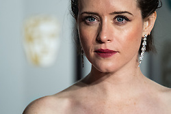 Claire Foy attending 72nd British Academy Film Awards, Arrivals, Royal Albert Hall, London. 10th February 2019