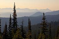 Mount Rainier hiking trip 2010