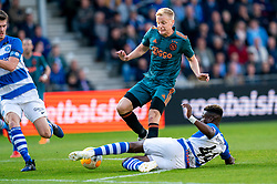 15-05-2019 NED: De Graafschap - Ajax, Doetinchem<br /> Round 34 / It wasn't really exciting anymore, but after the match against De Graafschap (1-4) it is official: Ajax is champion of the Netherlands / Donny van de Beek #6 of Ajax, Leeroy Owusu #44 of De Graafschap
