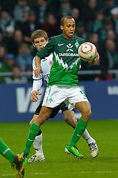 13.11.2010, Weser Stadion, Bremen, GER, 1.FBL, Werder Bremen vs 1. FC Eintracht Frankfurt im Bild Wesley (Bremen #5)     EXPA Pictures © 2010, PhotoCredit: EXPA/ nph/  Kokenge+++++ ATTENTION - OUT OF GER +++++