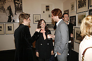 CHRISTOPHER BAILEY, Lady Frances Armstrong-Jones and Rodolphe von Hofmannsthal. Opening of Photo-London, Burlington Gdns. London. 17 May 2006. ONE TIME USE ONLY - DO NOT ARCHIVE  © Copyright Photograph by Dafydd Jones 66 Stockwell Park Rd. London SW9 0DA Tel 020 7733 0108 www.dafjones.com