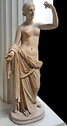 Roman Statue of Venus, 2nd Centurt AD. Venus was the Roman goddess of Love