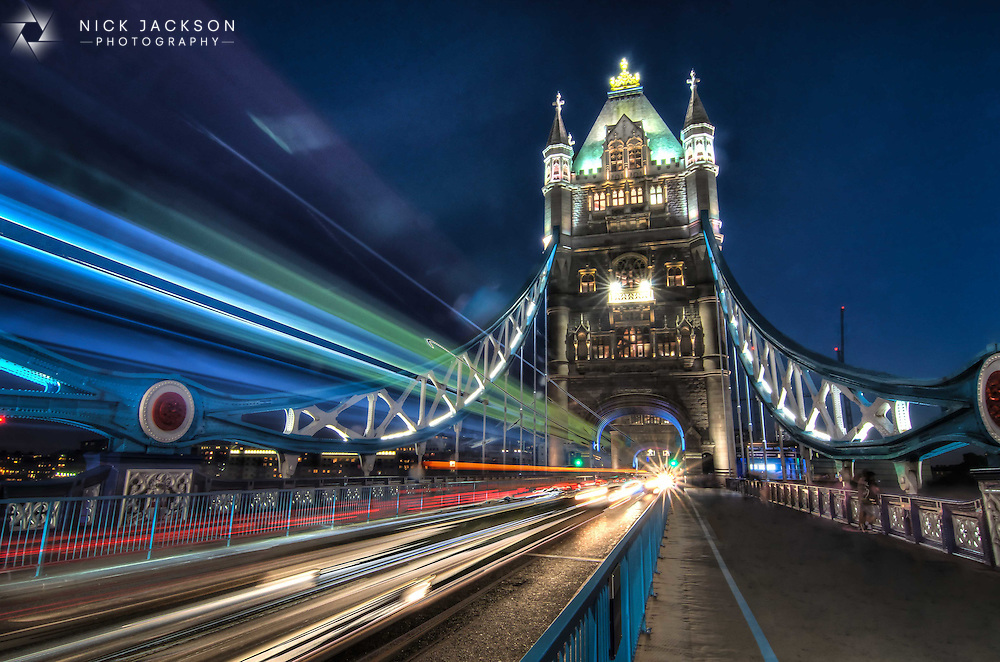 One of the most famous bridges in the world, and a fantastic one to capture at night. I love watching the traffic speed past me and trying to make a creative photograph out of it.