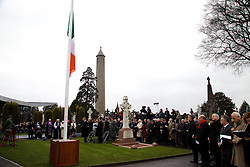 The Interfaith Service and Unveiling of Necrology Wall, Glasnevin Cemetery, Sunday 3 April 2016.<br /> <br /> An Taoiseach Enda Kenny TD.