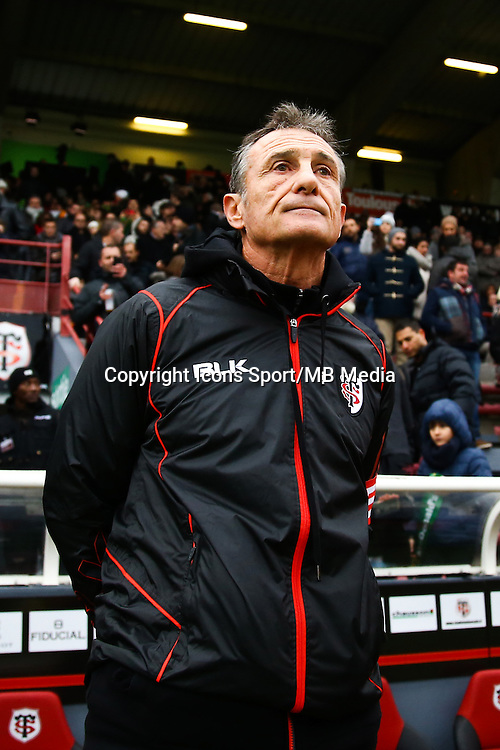 Guy Noves - 28.12.2014 - Toulouse / Racing Metro - 14eme journee de Top 14 <br />