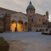Palermo, the cathedral, 12th century.<br /> Cattedrale di Palermo.