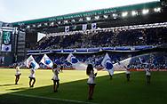 FODBOLD: Feststemt stadion umiddelbart før spillerne kommer på banen før kampen i ALKA Superligaen mellem FC København og SønderjyskE den 28. maj 2017 i Telia Parken, København. Foto: Claus Birch