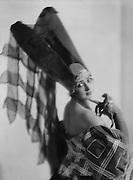 Alice Nikitina, ballerina, Russia, 1922