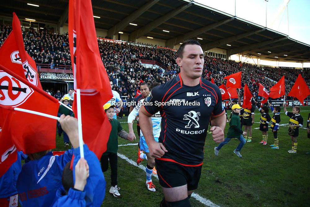 Louis Picamoles - 07.12.2014 - Toulouse / Glasgow - European Champions Cup -<br />Photo : Manuel Blondeau / Icon Sport
