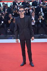 Fabio Rovazzi, attending the Vox Lux premiere during the 75th Venice Film Festival