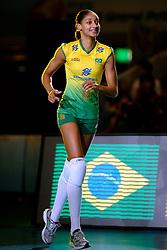 23-08-2009 VOLLEYBAL: WGP FINALS JAPAN - BRAZILIE: TOKYO <br /> Brazilie wint met 3-1 van Japan en zijn de winnaar van de Grand Prix 2009 / Joyce Silva<br /> ©2009-WWW.FOTOHOOGENDOORN.NL