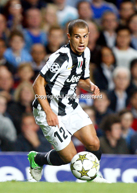 19.09.12 London, ENGLAND: <br /> Sebastian Giovinco of Juventus F.C.<br /> during the UEFA Champions League Group E match between Chelsea and  Juventus at Stamford Bridge Stadium