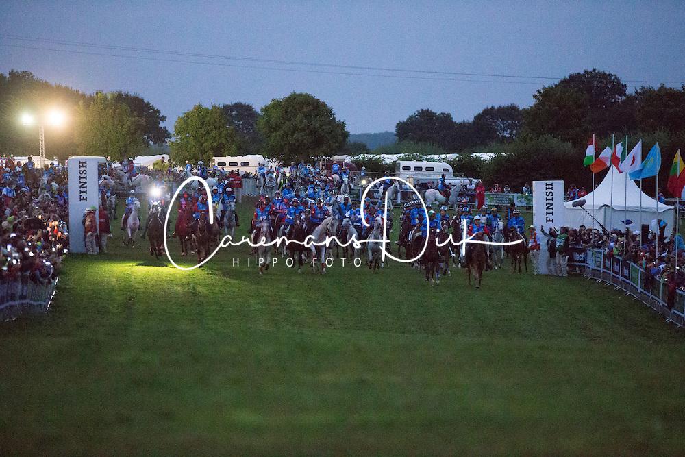 Start of the endurance - Endurance - Alltech FEI World Equestrian Games™ 2014 - Normandy, France.<br /> © Hippo Foto Team - Dirk Caremans<br /> 25/06/14