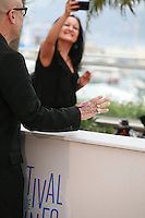 Bruce Wagner at the photo call for the film Maps To The Stars at the 67th Cannes Film Festival, Monday 19th May 2014, Cannes, France.