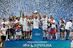 20170528 FC København - Sønderjyske DBU Pokaloverrækkelse Superliga fodbold