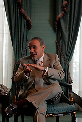 UK ENGLAND LONDON 22MAR05 - His Royal Highness Prince Turki Al-Faisal, Saudi Arabian Ambassador to the United Kingdom and Ireland speaks during interview. Prince Turki Al-Faisal is the former head of Saudi Intelligence Services and has extensive detailed knowledge of Al-Qaeda, Osama Bin-Laden and terrorism issues at large...jre/Photo by Jiri Rezac ..© Jiri Rezac 2005..Contact: +44 (0) 7050 110 417.Mobile:  +44 (0) 7801 337 683.Office:  +44 (0) 20 8968 9635..Email:   jiri@jirirezac.com.Web:    www.jirirezac.com..© All images Jiri Rezac 2005 - All rights reserved.