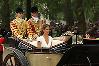 Pippa Middleton (Sister) William & Kate Royal Wedding, London, UK, 29 April 2011:  Contact: Rich@Piqtured.com +44(0)7941 079620 (Picture by Richard Goldschmidt)