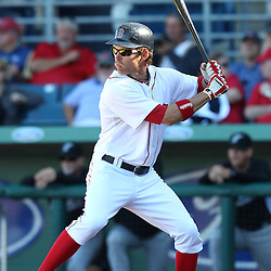 March 12, 2011; Fort Myers, FL, USA; Boston Red Sox center fielder Josh Reddick (68) during a spring training exhibition game against the Florida Marlins at City of Palms Park. The Red Sox defeated the Marlins 9-2.  Mandatory Credit: Derick E. Hingle