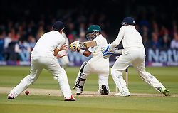 Pakistan's Babar Azam during day two of the First NatWest Test Series match at Lord's, London.