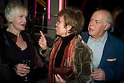 SHEILA HANCOCK; JULIE WALTERS; CLIVE SWIFT, The Actors Centre's 30th Birthday Party. 1a Tower St, Covent Garden. London. 2nd November<br />