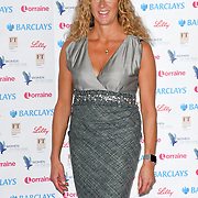 Sally Gunnell attends Women of the Year Lunch and Awards at Intercontinental Hotel Park Lane, London, UK. 15 October 2018.