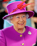 Queen Elizabeth Visits HMS Ocean