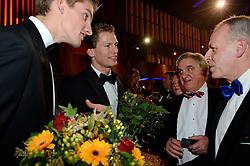 17-12-2013 ALGEMEEN: SPORTGALA NOC NSF 2013: AMSTERDAM<br /> In de Amsterdamse RAI vindt het traditionele NOC NSF Sportgala weer plaats. Op deze avond zullen de sportprijzen voor beste sportman, sportvrouw, gehandicapte sporter, talent, ploeg en trainer worden uitgereikt / (L-R) Robert Meeuwsen, Alexander Brouwer en Andre Bolhuis<br /> ©2013-FotoHoogendoorn.nl