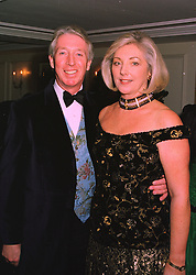 Multi millionaire businessman MR & MRS PETER BECKWITH parents of Tamara Beckwith, at a ball in London on 20th November 1997.MDN 17