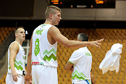 Edo Muric of Slovenia during friendly basketball match between National teams of Slovenia and Belgium at day 2 of Adecco Cup 2016, on August 6 in Zlatorog, Celje, Slovenia. Photo by Matic Klansek Velej / Sportida