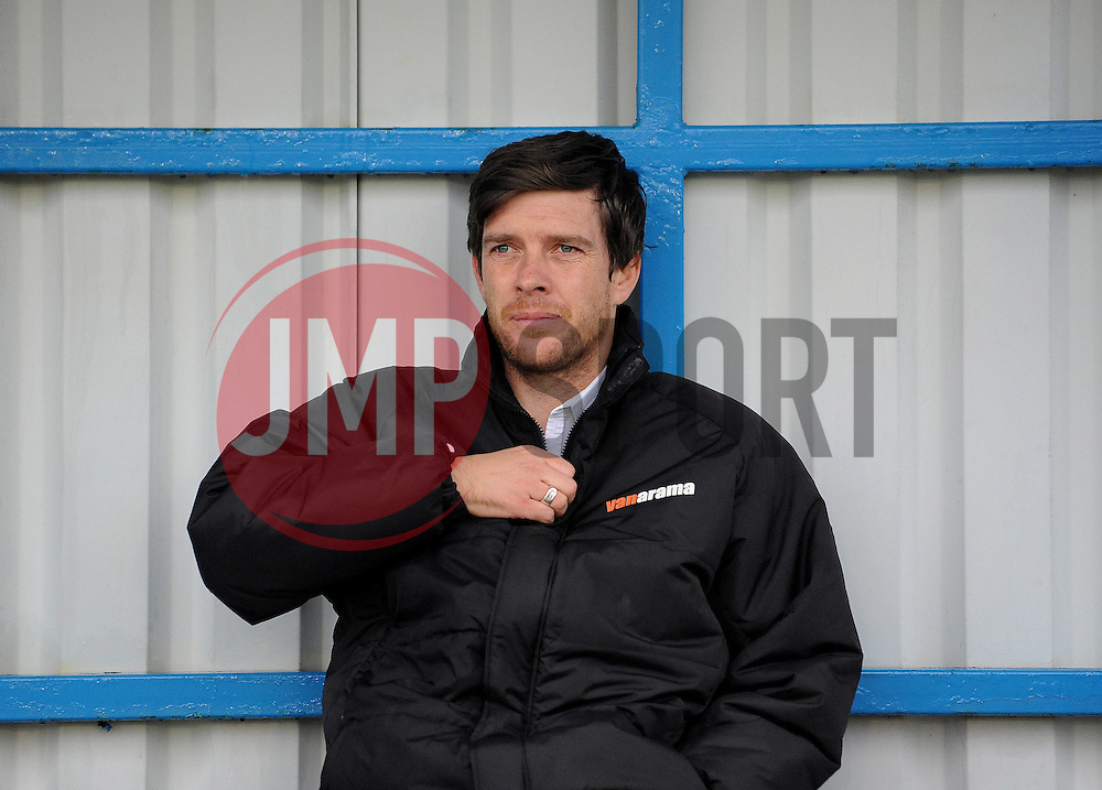 Bristol Rovers Manager, Darrell Clarke - Photo mandatory by-line: Neil Brookman/JMP - Mobile: 07966 386802 - 04/01/2015 - SPORT - football - Nuneaton - James Parnell Stadium - Nuneaton Town v Bristol Rovers - Vanarama Conference